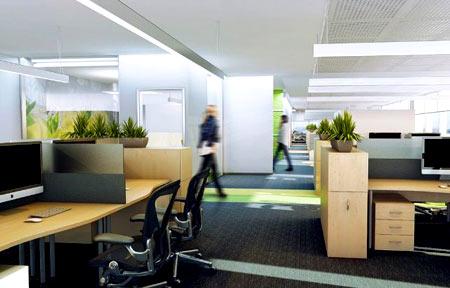 офис открытое пространство