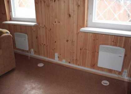 отопление в бане с помощью конвекторов