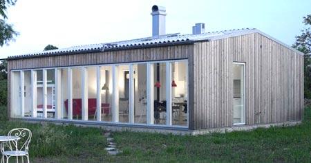 большие окна скандинавский стиль