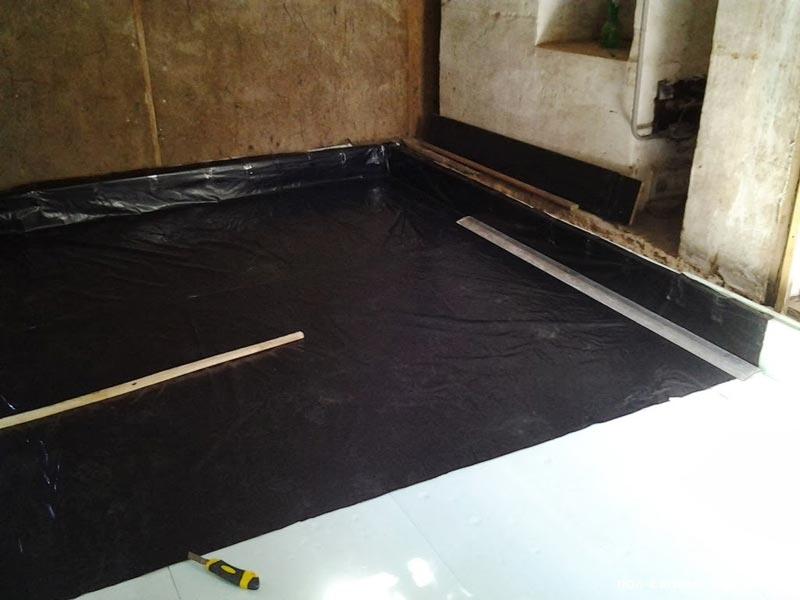 влагоизоляция бетонного пола