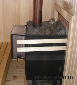 печь-каменка в бане
