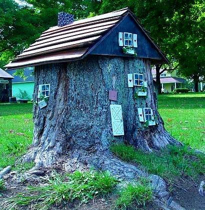 домик в дереве