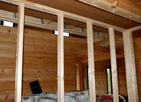 реконструкция перегородок в доме