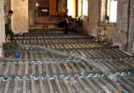 реконструкция перекрытия дома