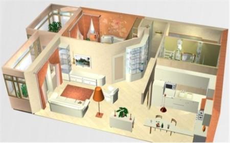 как сделать из однокомнатной квартиры двухкомнатную