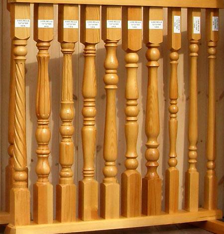 деревянные перила