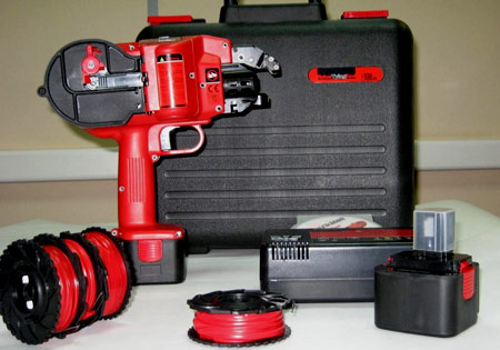 пистолет для вязки арматуры