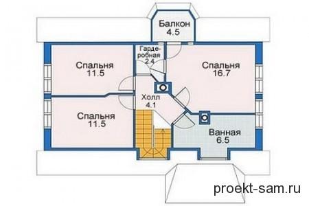 план кирпичного дома до 150 кв м