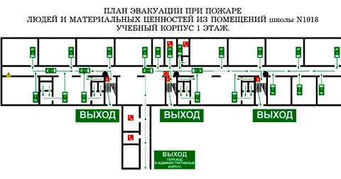 содержание плана эвакуации