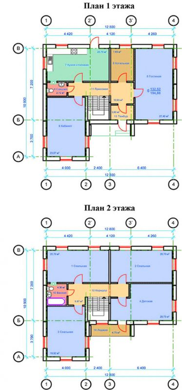 дом из жби панели