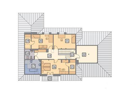 планировка второго этажа дома с тренажерным залом