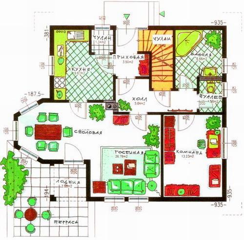 Частный дом как правильно сделать планировку