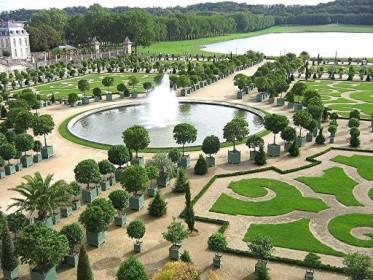 планировка французского сада