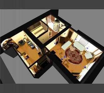 планировка сауны в подвале дома