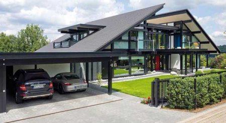 Крыши разный уклон