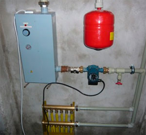 подключение газового котла к коллектору