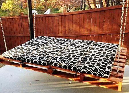 подушки для качели