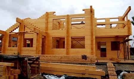 постройка дома 8х10