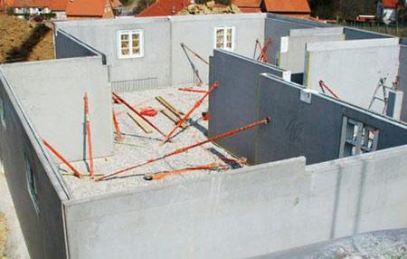 постройка дома жби панелей