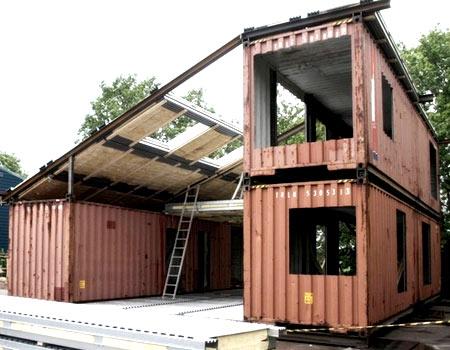 контейнерный дом