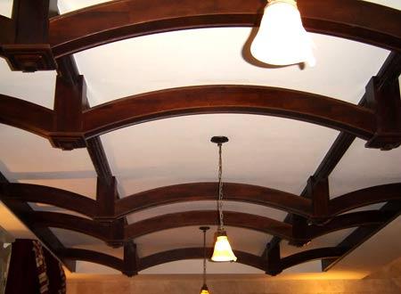 украшение потолка