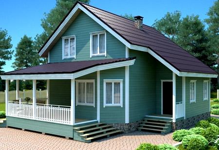 дом веранда