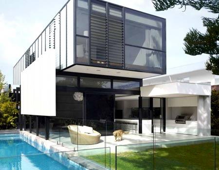 прямоугольный дом
