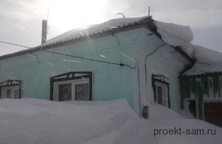 проблемы частного дома зимой
