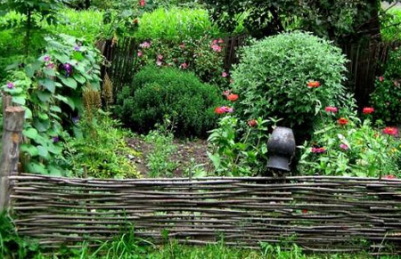 изгородь продольное сечение