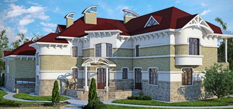 проект большой дом