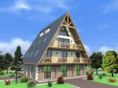 проект 3 этажной мини-гостиницы