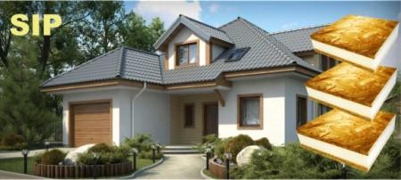 проект быстровозводимого дома из сип-панелей