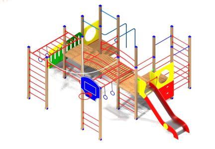 проект детской спортивной площадки