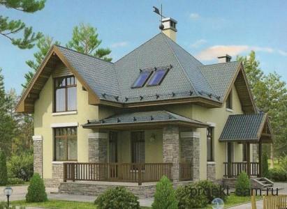 проект загородного дома 150 кв м