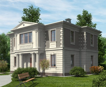 проект дома 250 кв. м.