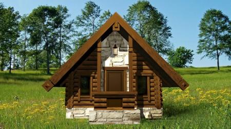 проект маленького домика