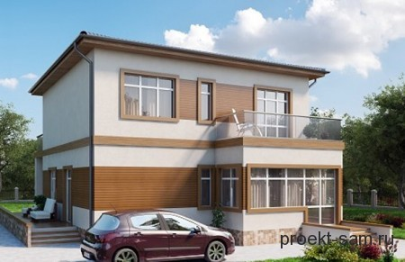 Проекты Одноэтажных Домов Из Газобетона С Гаражом