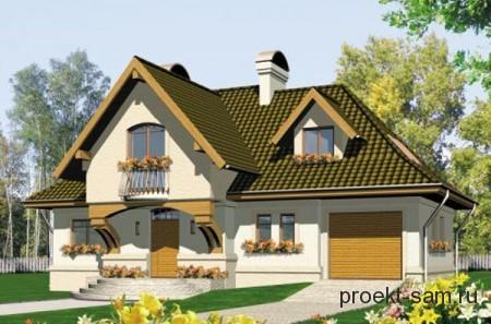 проект частного дома из керамических блоков