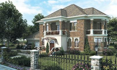 проект дома на большую семью
