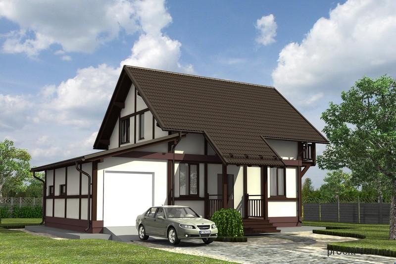 проект быстровозводимого дома по немецкой технологии