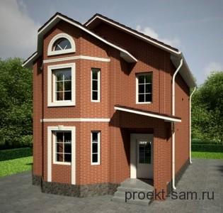 готовый проект дома для узкого участка