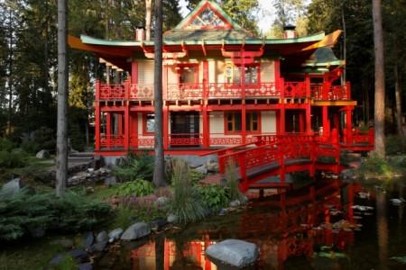 проект дома в китайском стиле