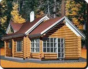 проект каркасного деревянного дома