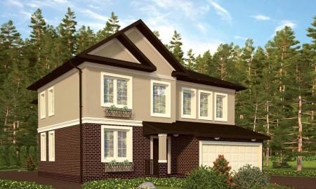 проект каркасного дома 300 кв. м.