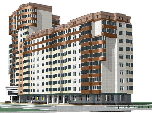 Типовые проекты многоэтажных жилых домов.