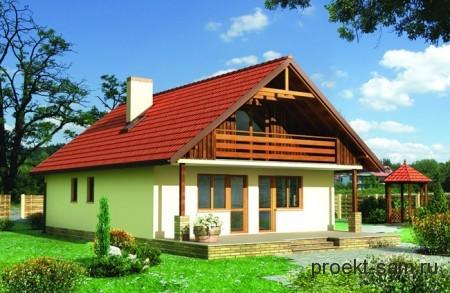 проект кирпичного дома до 150 кв м