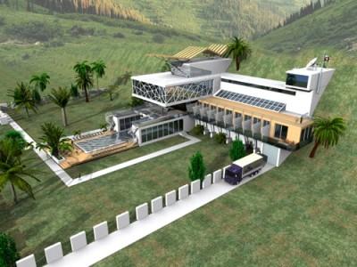 проекты мини-гостиницы в зеленой зоне