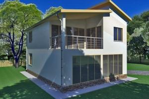 проект модульного дачного дома