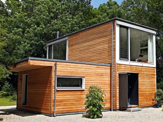 проект модульного деревянного дома