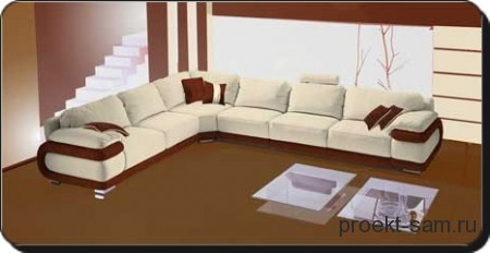 3d проект мягкой мебели